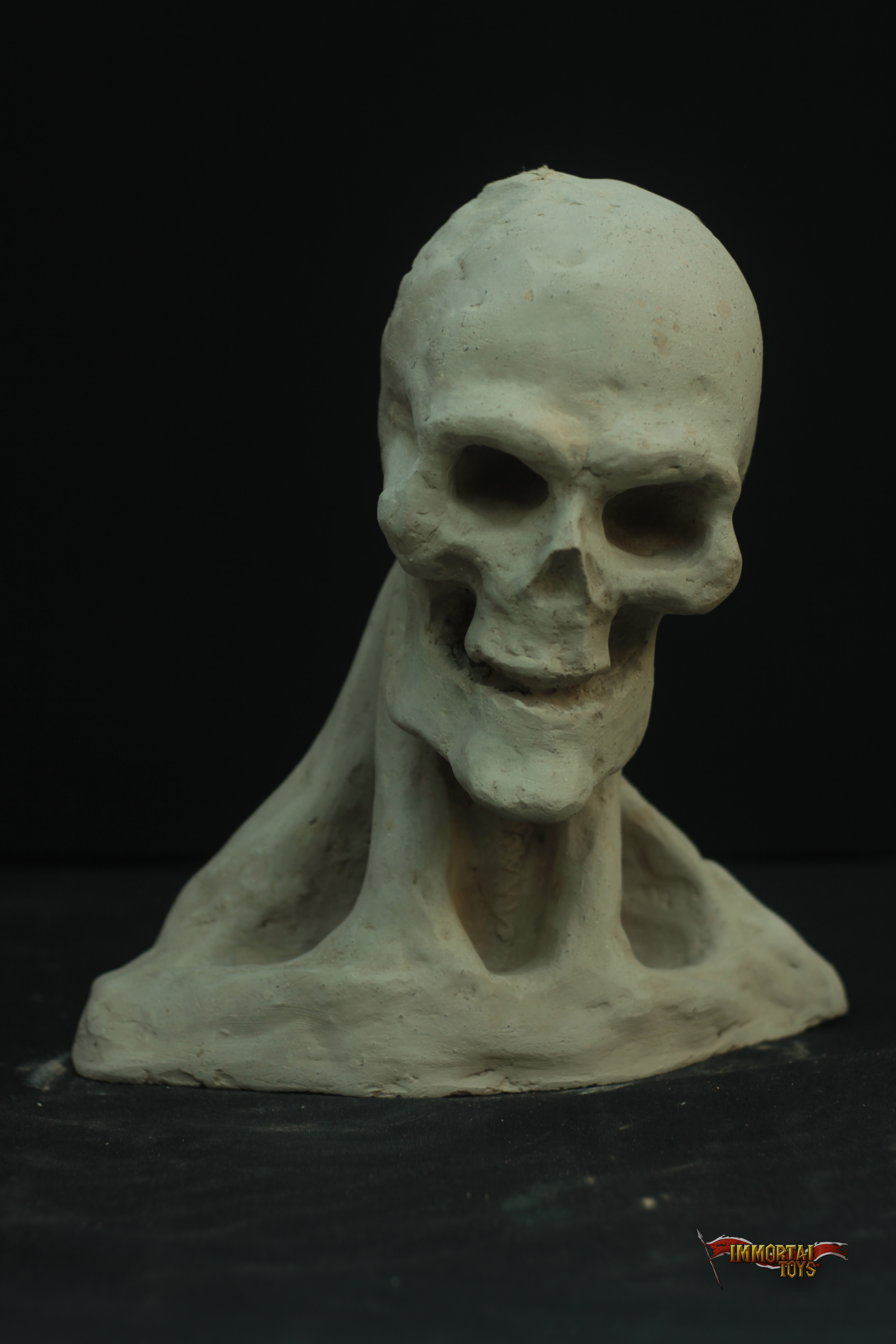 Clay sculptures immortal toys