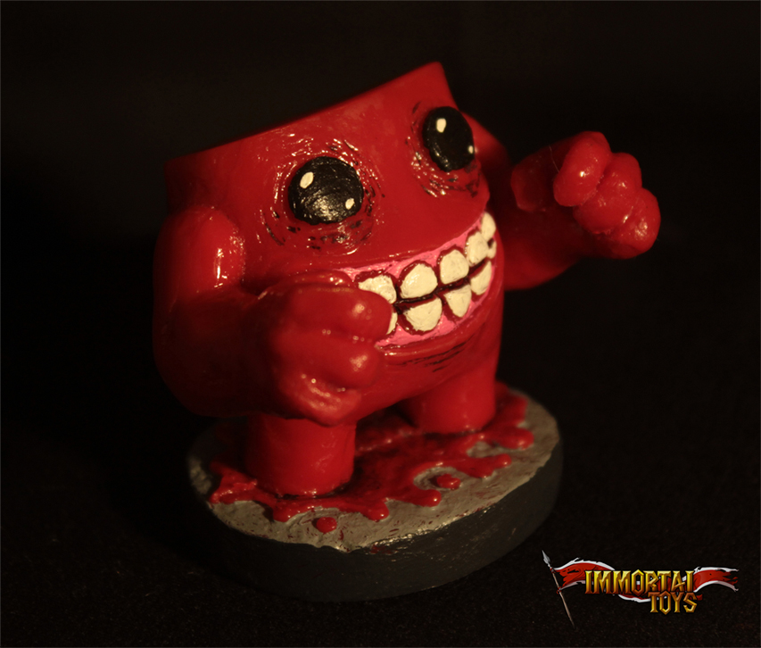 Brand-new Super Meat Boy Figures | Immortal Toys TR72